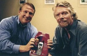 Mark Thompson with Richard Branson