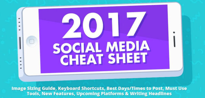 The Indispensable Social Media Cheat Sheet [Infographic]