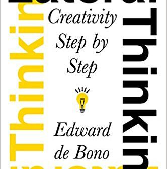 Lateral Thinking- Creativity Step by Step