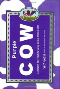 Purple Cow- Transform Your Business by Being Remarkable