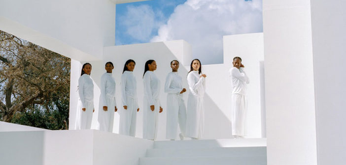 Artist Solange partnered with Uniqlo to create a performance piece centered around movement for the brand's line of sportswear.