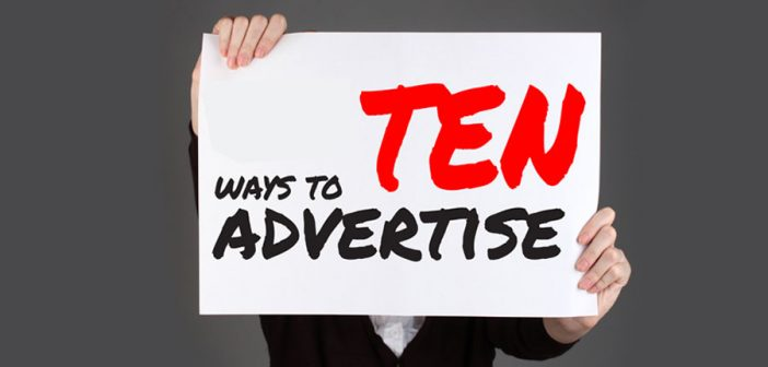 10 Ways To Advertise Your Advertising Agency