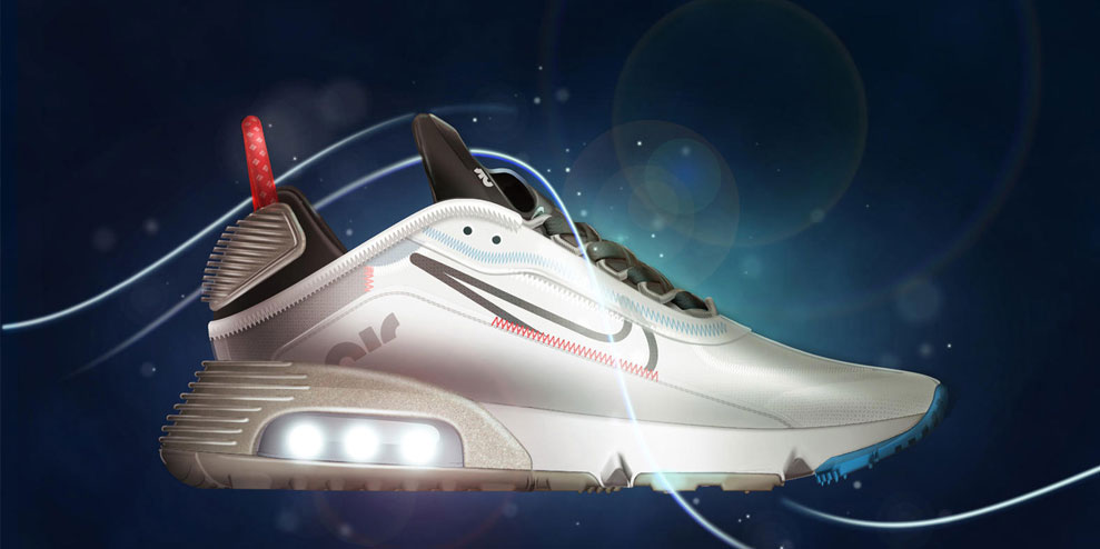 """Nike designs Air Max 2090 to be """"shoe of the future"""""""