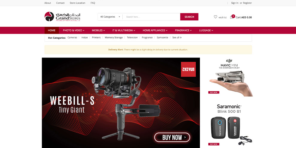 Grand Stores launches a Grand New Online Shopping Experience