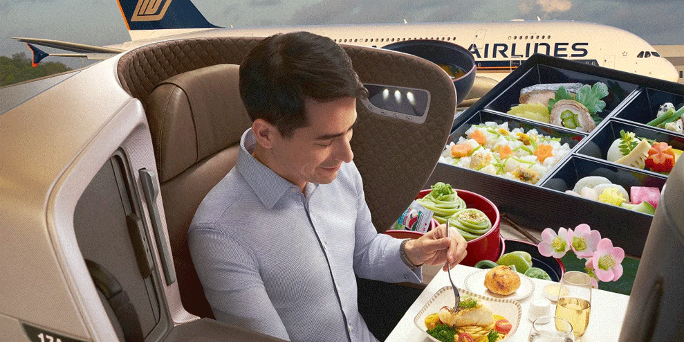Singapore Airlines is turning its planes into pop-up restaurants