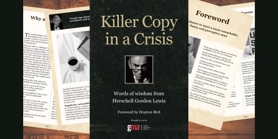 eBook: Upgrade your copy from filler to killer with Herschell Gordon Lewis