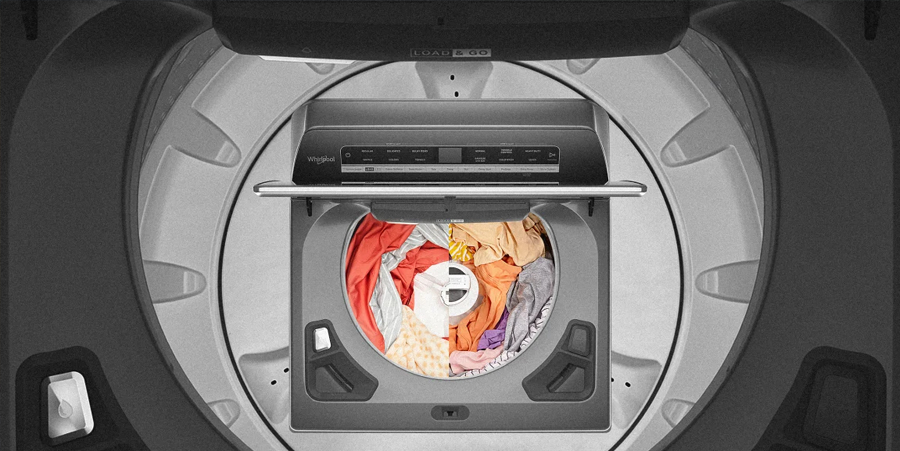 Bye-bye, front loaders! Whirlpool unveils the washing machine of your dreams