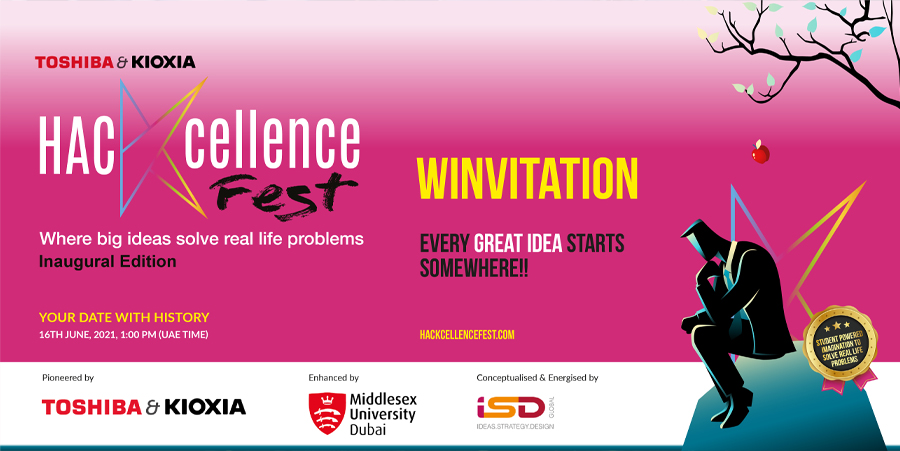 Student powered world changing hacks: Pioneered by Toshiba & Kioxia, enhanced by Middlesex University.