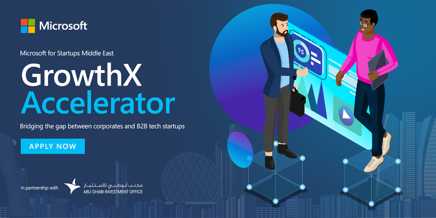 Microsoft's 'GrowthX Accelerator' applications now open for B2B startups across the UAE