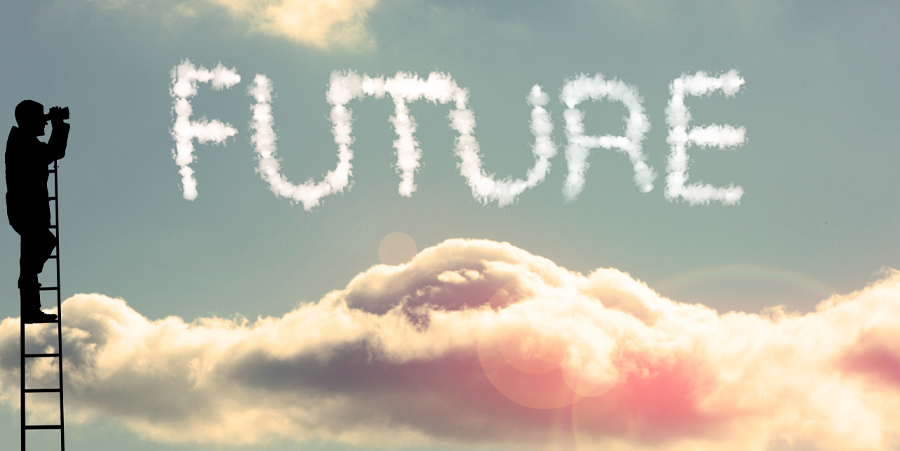 The future is plural, unpredictable and rarely a linear path from the present